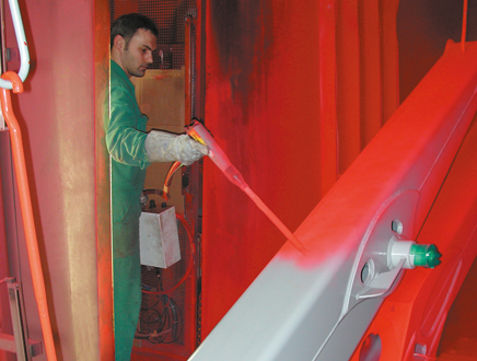 Cathodic dip-painting & powder coating